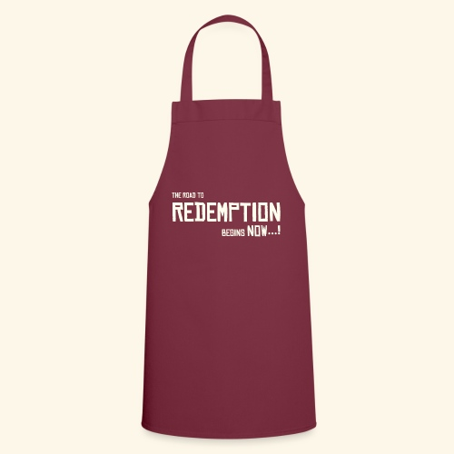 Wild West Game Text Design - Cooking Apron