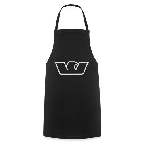 logo white bird Westone - Cooking Apron