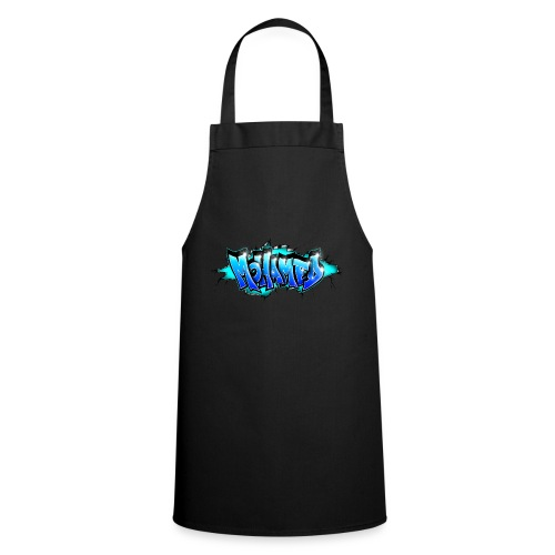 GRAFFITI MOHAMED BLUE PRINTABLE - Cooking Apron