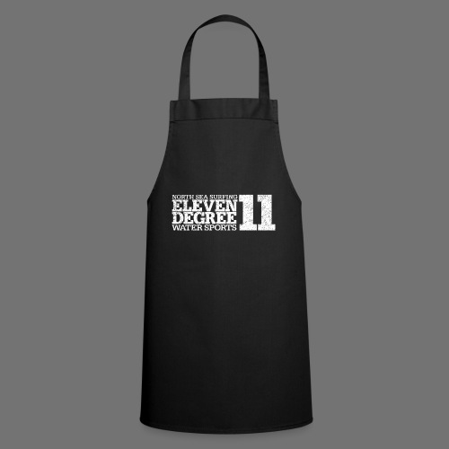 eleven degree white (oldstyle) - Cooking Apron