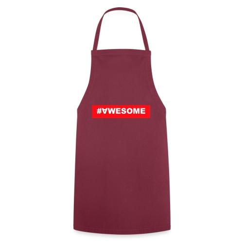 Awesome logo jpg - Kochschürze