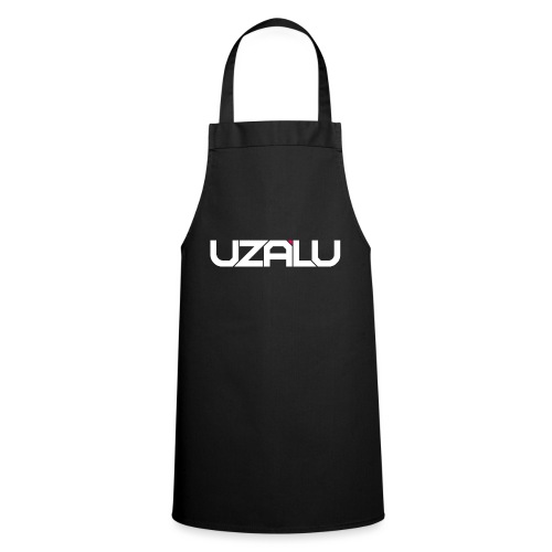 uzalu Text Logo - Cooking Apron