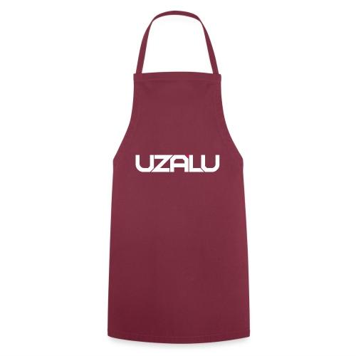 uzalu Text Logo - Cooking Apron