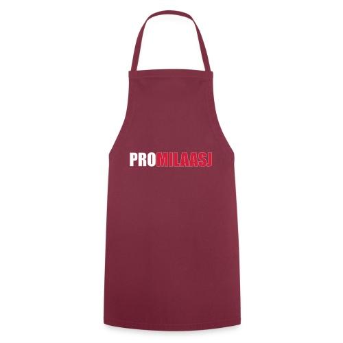 Promilaasj_tekst_logo - Keukenschort