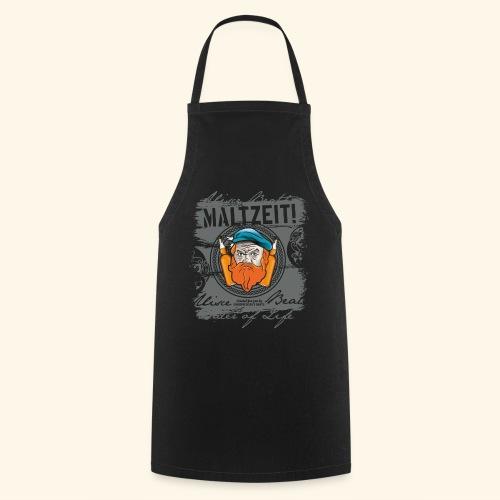 Whisky T Shirt Design Maltzeit - Kochschürze