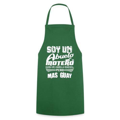 Soy un abuelo motero - Delantal de cocina