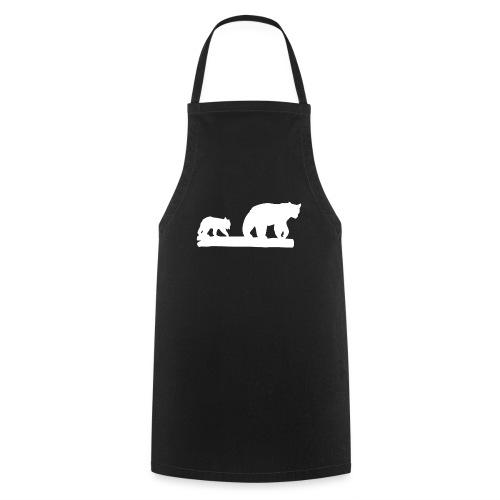 Bär Bären Grizzly Raubtier Wildnis Nordamerika - Kochschürze