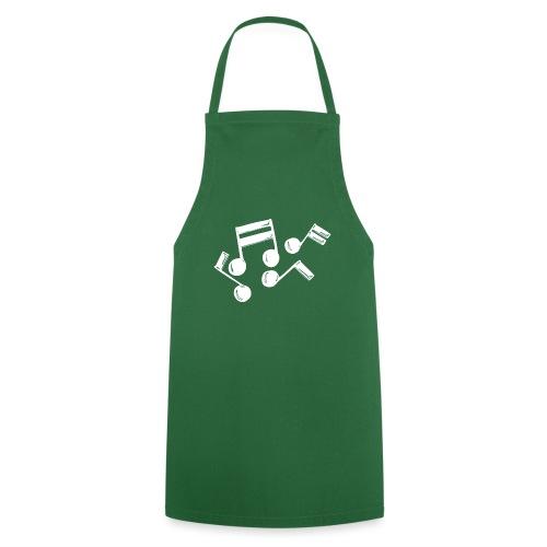 Musik Symbol Note Noten musiknoten spielen - Kochschürze