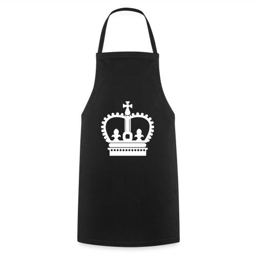 Krone Symbol König Kaiser Königin Mittelalter - Kochschürze