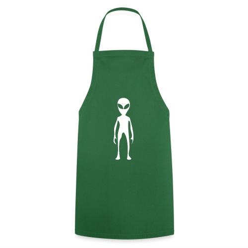 Weltall Symbol Universum Alien Aliens Marsmensch - Kochschürze