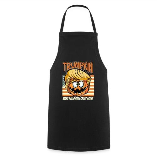 Trumpkin Donald Trump Halloween - Kochschürze