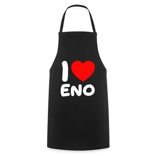 I love Eno / valkoinen - Esiliina