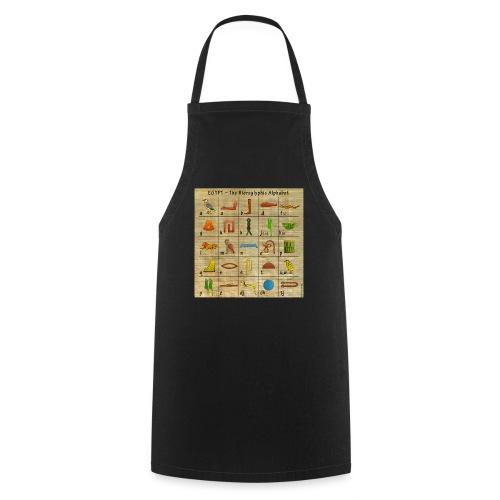The Hieroglyphic Alphabet - Kochschürze