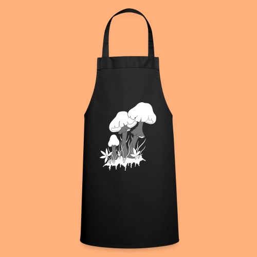 champignons - Tablier de cuisine