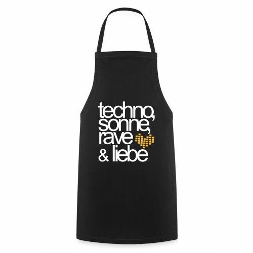 Techno Sonne Rave & Liebe Sommer Musik Festivals - Kochschürze