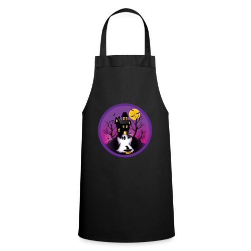 Spooky Halloween Ghost - Cooking Apron