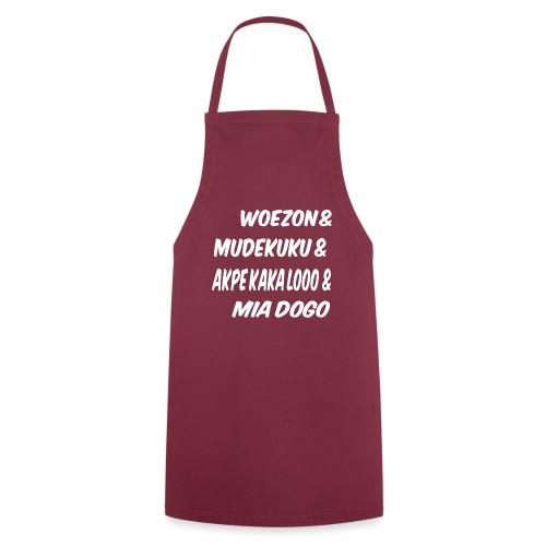 WOEZON MDEKUKU AKPE MIA DOGO - Tablier de cuisine