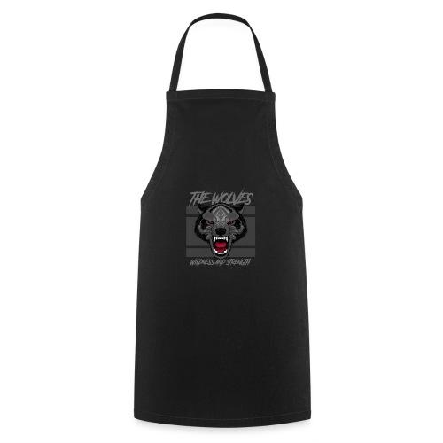 Boze wolf design - Keukenschort