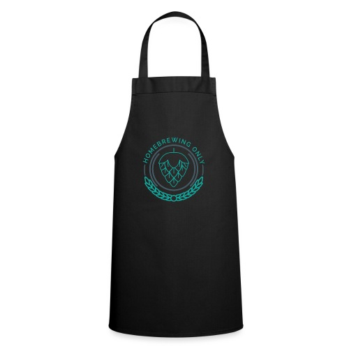 Homebrewing Only Turquoise - Cooking Apron