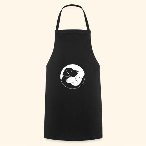Yin Yang Labrador - Labbi - Geschenkidee - Kochschürze