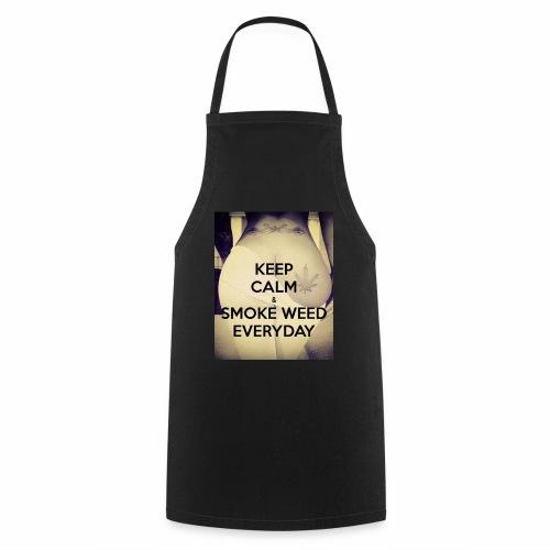 Keep Calm & Smoke Weed Everyday - Fartuch kuchenny
