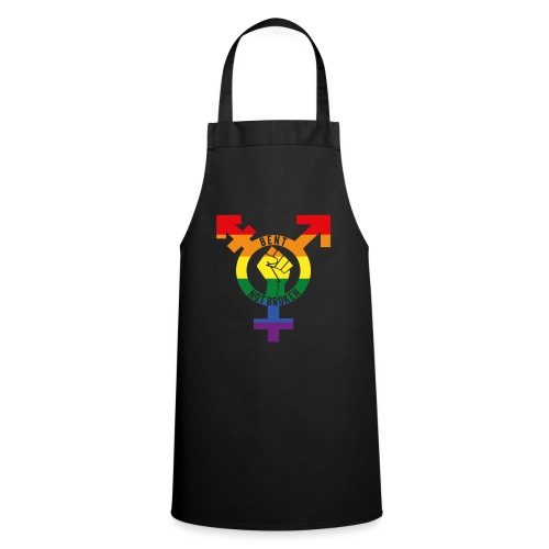 bent not broken - Cooking Apron