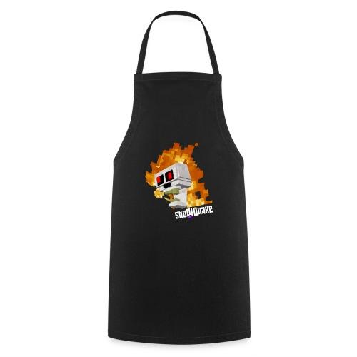 SnoWQuake skull logo - Cooking Apron