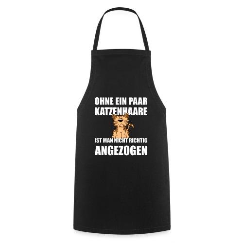Katzenhaare Kaetzchen Shirt Geschenk - Kochschürze