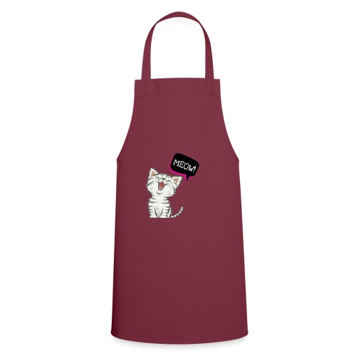 Cat meow - Cooking Apron
