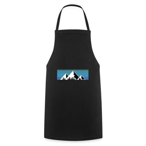 Berge im Sonnenaufgang Bergshirt & Natur Design - Kochschürze