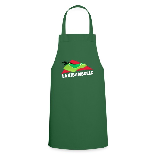 laRibambulle logoHD blanc png - Tablier de cuisine