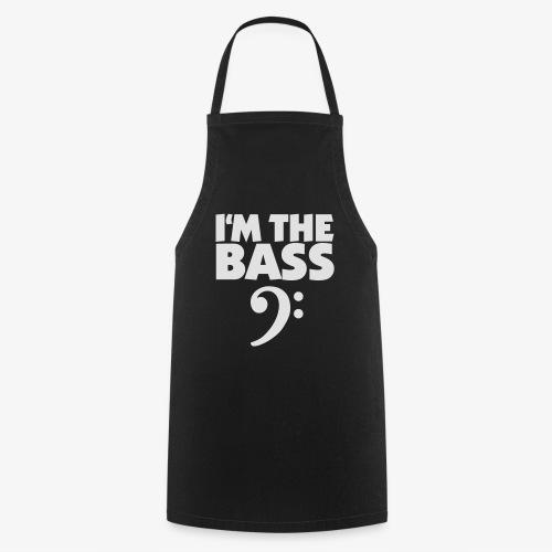 I'm the Bass (Weiß) - Kochschürze