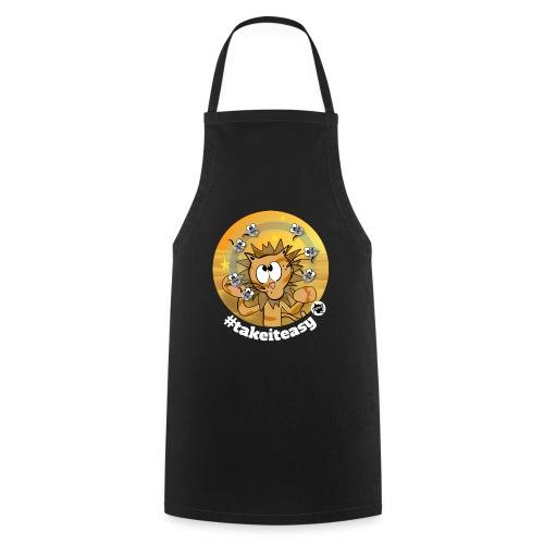 Astrokatze Löwe - Kochschürze