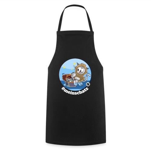 Astrokatze Wassermann - Kochschürze