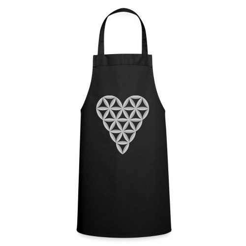 The Heart of Life x 1, New Design /Atlantis -01 - Cooking Apron