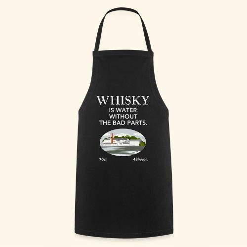 Whisky Is Water lustiger Spruch und Brennerei - Kochschürze