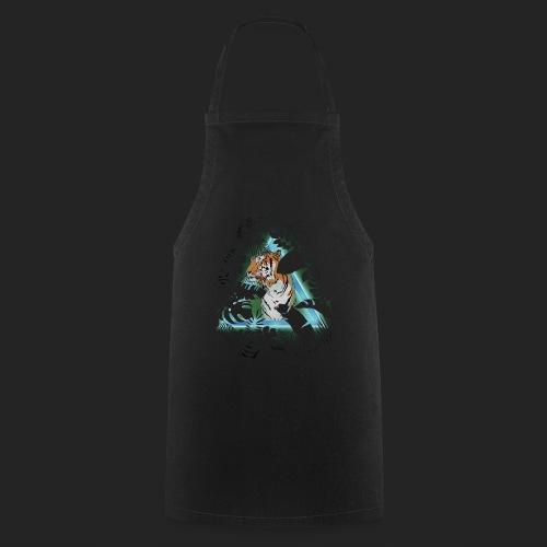 Tigre en soirée - Tablier de cuisine