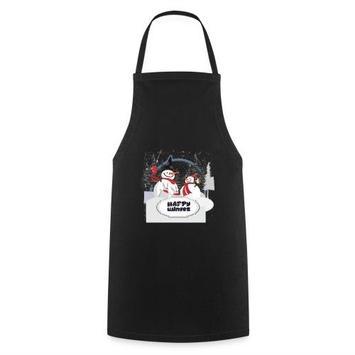 happy winter - Tablier de cuisine