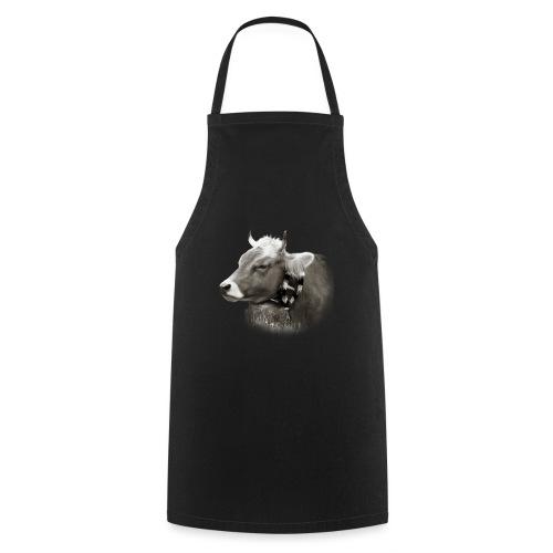 Allgäu Kuh sepia - Kochschürze