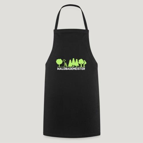 Waldbademeister fürs Waldbaden und Waldbad - Kochschürze