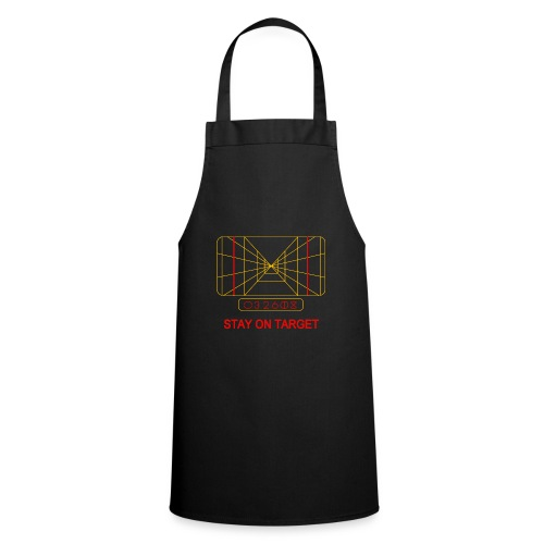 STAY ON TARGET 1977 TARGETING COMPUTER - Cooking Apron