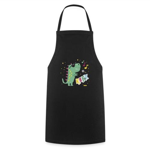 DINO MUSIC 1 - Delantal de cocina
