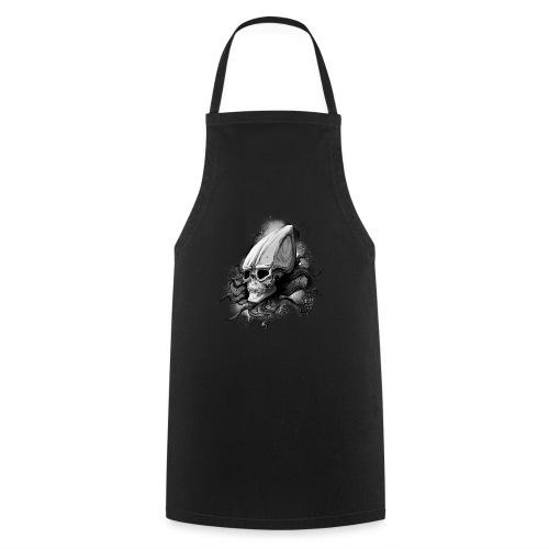 Alien BONE SQL B / W - Cooking Apron