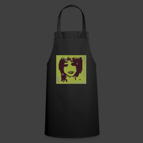 Green brown girl - Cooking Apron