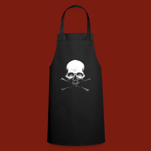 Old Skull - Cooking Apron