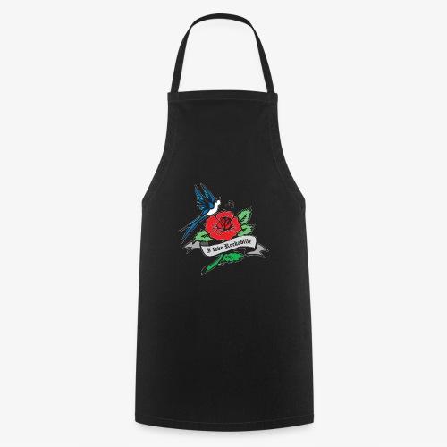 rockabilly tattoo retro patjila - Cooking Apron