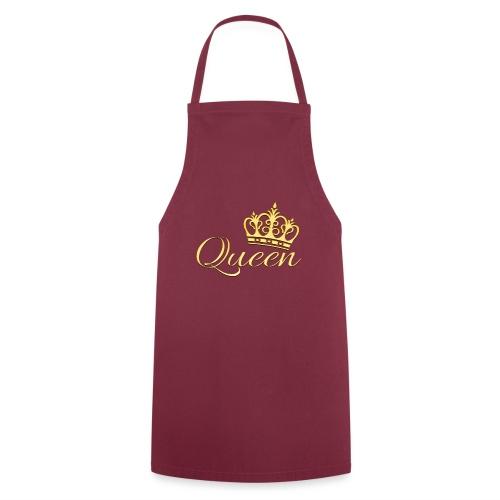 Queen Or -by- T-shirt chic et choc - Tablier de cuisine
