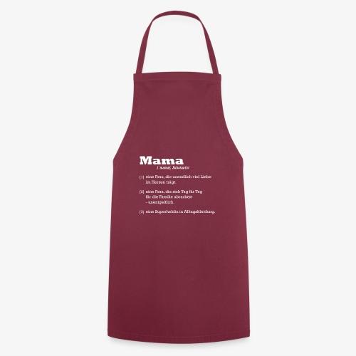 Mutter Mama Bedeutung Muttertagsgeschenk - Kochschürze
