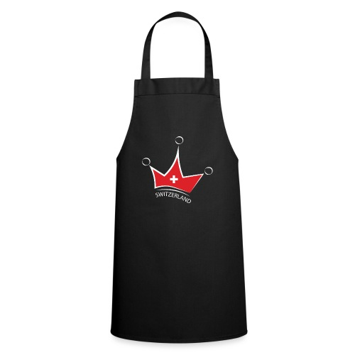 Switzerland Crown - Delantal de cocina