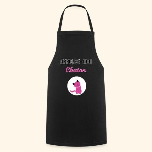 appelez-moi-chaton - Tablier de cuisine